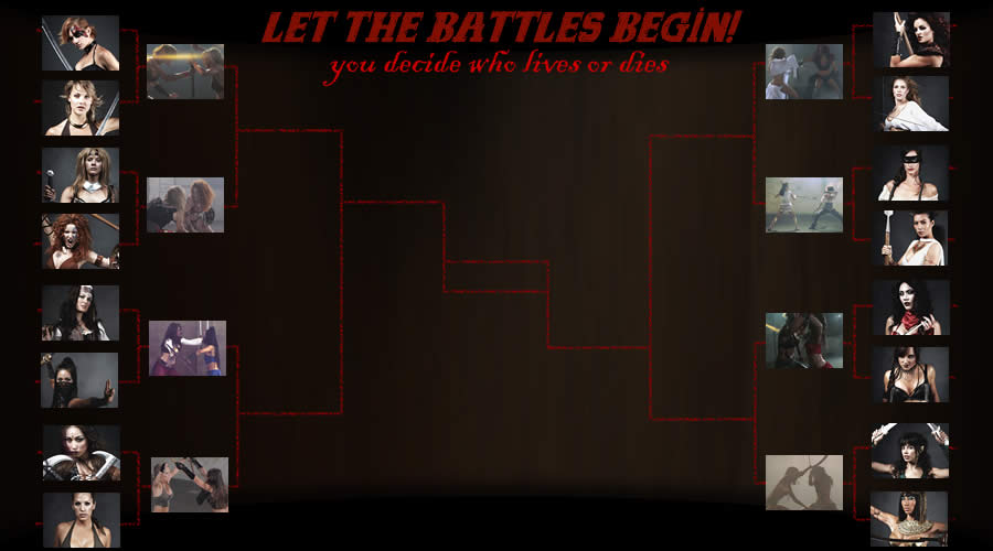 Fantasy Women Battles Bracket